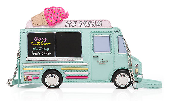 Kate Spade Flavor of the Month Ice Cream Truck Clutch -  Food Accessory