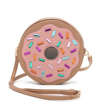 Patricia Change Donut Cross Body Bag -  Food Accessory