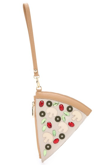 Patricia Change Pizza Wristlet -  Food Accessory
