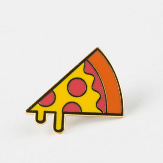 These Are The Things Pizza Pin -  Food Accessory