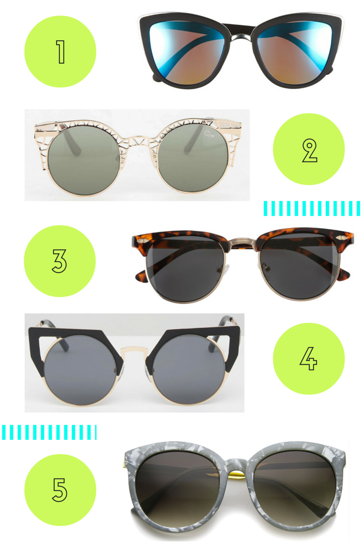 Dreaming of 5 Sunglasses Under $50